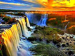 diaporama pps Iguazu falls Brazil – Argentina
