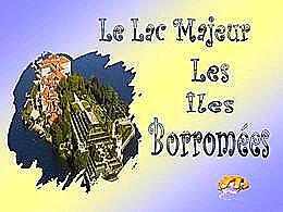 diaporama pps Îles Borromée – Lac Majeur