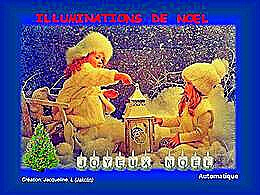 diaporama pps Illuminations de Noël