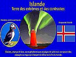 diaporama pps Islande terre des Extrêmes