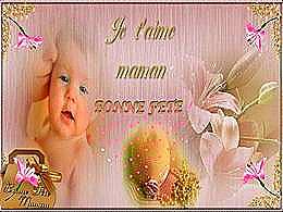 diaporama pps Je t'aime maman bonne fête