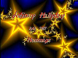 diaporama pps Johnny Hallyday Hommage