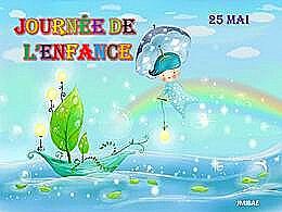 diaporama pps Journée de l'enfance 25 Mai