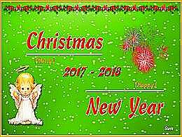 diaporama pps Joyeux Noël 2017 – Bonne Année