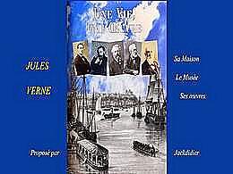 diaporama pps Jules Verne une vie une œuvre