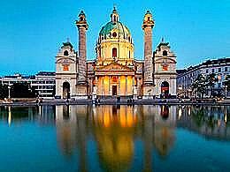 diaporama pps Karlskirche Austria