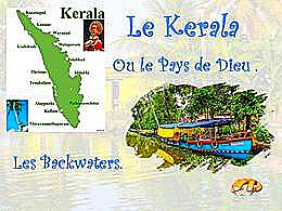 diaporama pps Kerala les Backwaters