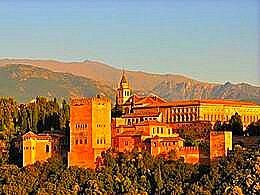 diaporama pps L'Alhambra un palais de dentelles