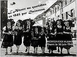 diaporama pps L'Alsace par Doisneau en 1945