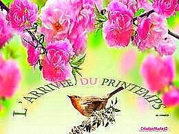 diaporama pps L'arrivée du printemps