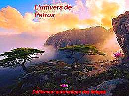 diaporama pps L'univers de Petros