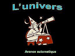 diaporama pps L'univers
