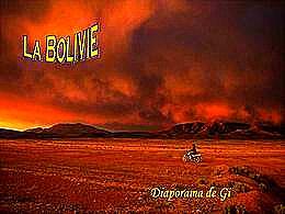 diaporama pps La Bolivie