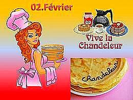 diaporama pps La chandeleur et ses crèpes