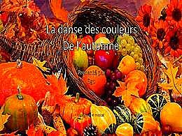 diaporama pps La danse des couleurs de l'automne