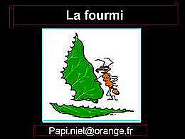 diaporama pps La fourmi