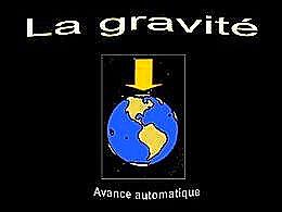 diaporama pps La gravité