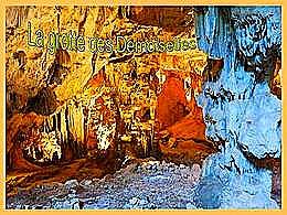 diaporama pps La grotte des demoiselles