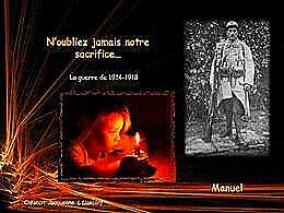 diaporama pps La guerre de 1914-1918