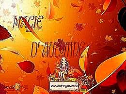 diaporama pps La magie de l'automne