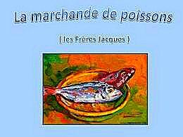 diaporama pps La marchande de poissons