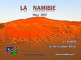 diaporama pps La Namibie 1er volet