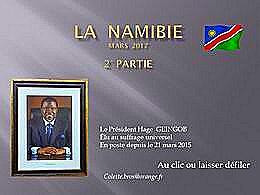 diaporama pps La Namibie 2ème partie