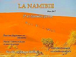 diaporama pps La Namibie 3ème partie