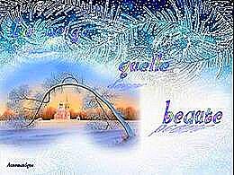diaporama pps La neige quelle beauté