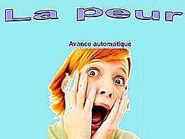 diaporama pps La peur