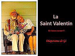 diaporama pps La Saint Valentin