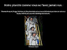 diaporama pps La terre depuis l'iss