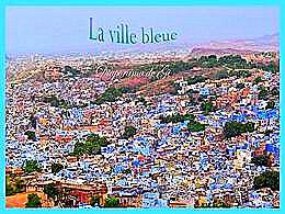 diaporama pps La ville bleue