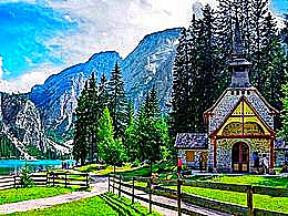 diaporama pps Lake Braies Italia