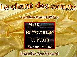 diaporama pps Le chant des Canuts