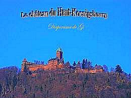 diaporama pps Le Château du Haut-Koenigsbourg