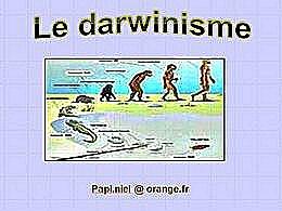 diaporama pps Le darwinisme