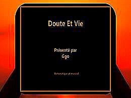 diaporama pps Le doute et la vie