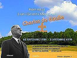 diaporama pps Le Général de Gaulle