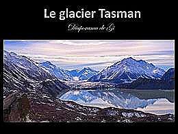 diaporama pps Le glacier Tasman