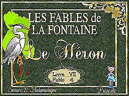 diaporama pps Le héron chanté par-les-Frères Jacques