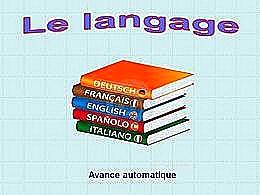 diaporama pps Le langage