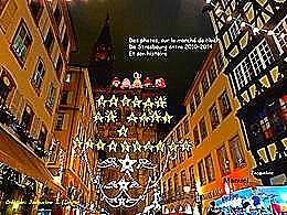 diaporama pps Le marché de Noël à Strasbourg