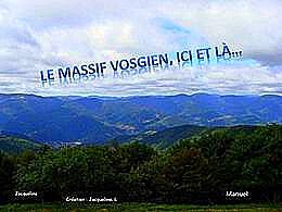 diaporama pps Le Massif Vosgien