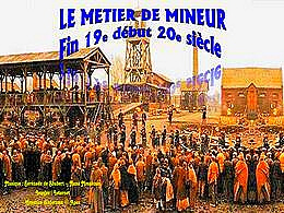 diaporama pps Le métier de mineur