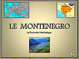 diaporama pps Le Monténégro