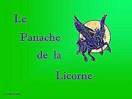 diaporama pps Le panache de la licorne