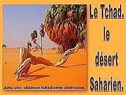diaporama pps Le Tchad et le désert tchadien