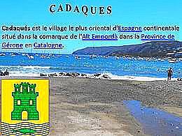 diaporama pps Le village de Cadaqués – Espagne