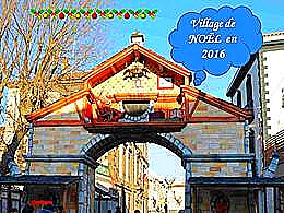 diaporama pps Le village de Noël